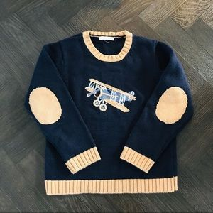 Janie and Jack Airplane Sweater